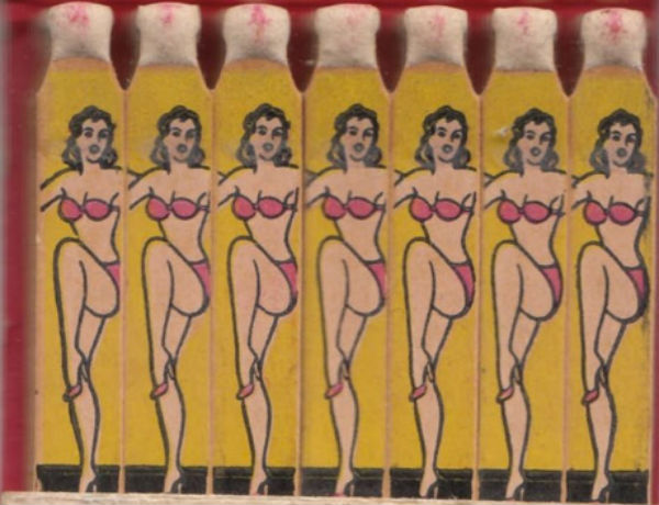 Looking for a TON of burlesque matchbook covers? Well, you can stop looking.