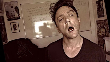 Comedian Peter Serafinowicz sings the first page from Morrissey's new book