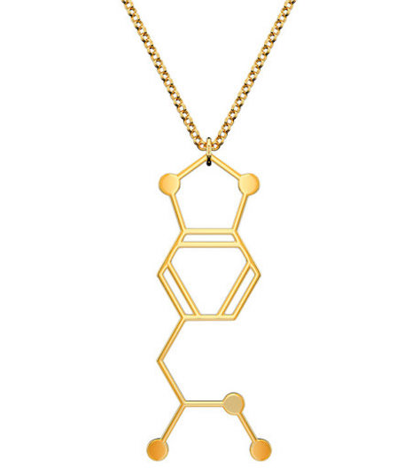 MDMA molecular necklace
