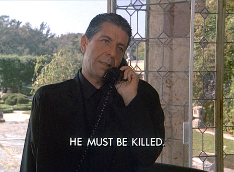 Leonard Cohen on 'Miami Vice'