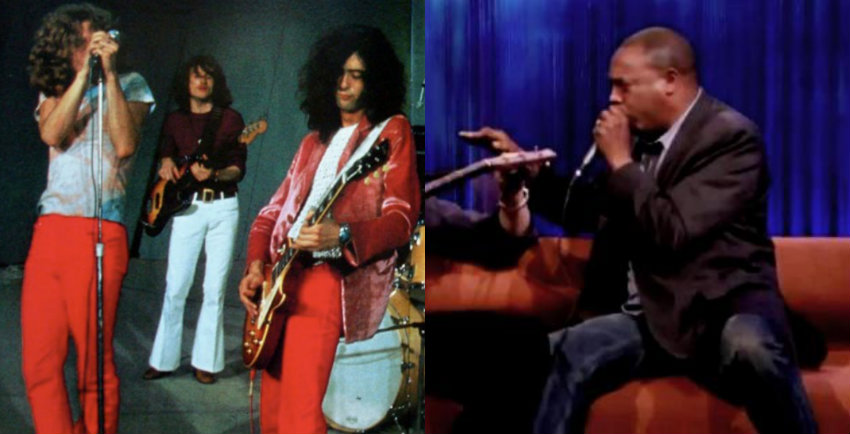'Man of 10,000 Sound Effects' Michael Winslow sings Led Zeppelin's 'Whole Lotta Love'
