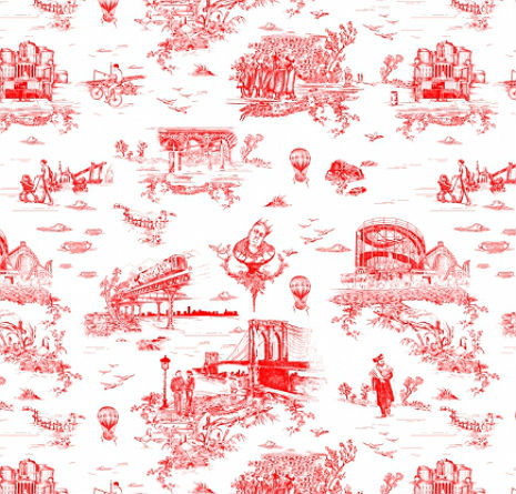 Beastie Boy Mike D designed some wallpaper