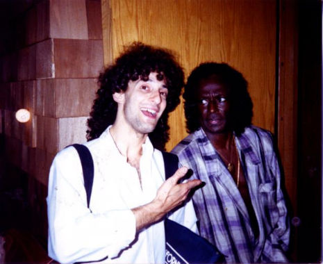 When Miles Davis gave Kenny G the side-eye