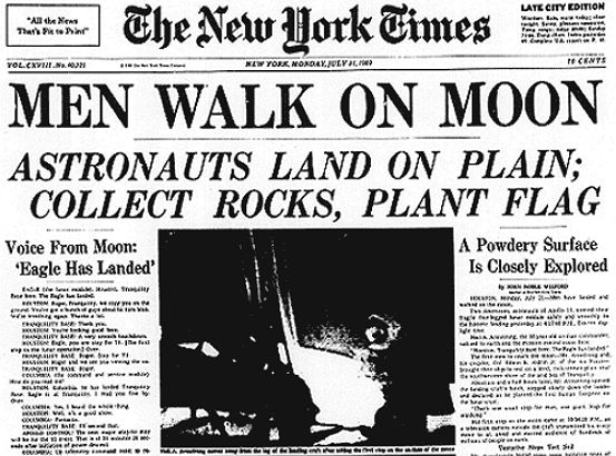 'IN EVENT OF MOON DISASTER': The speech Nixon would have given if lunar landing had failed