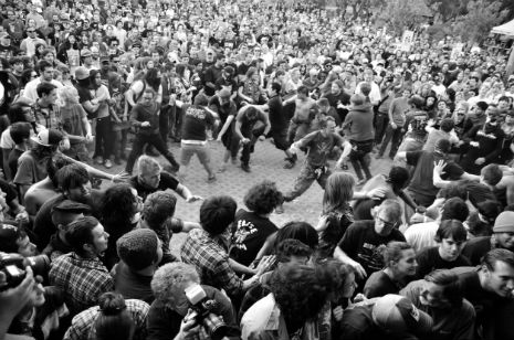 The Physics of Mosh Pits