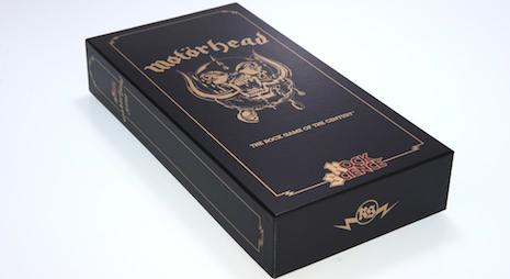 Motorhead trivia board game box