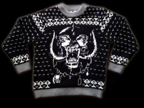 Righteous Motörhead Christmas sweater