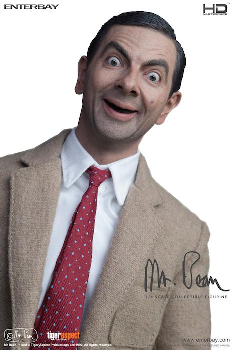 Mr Bean figure close up