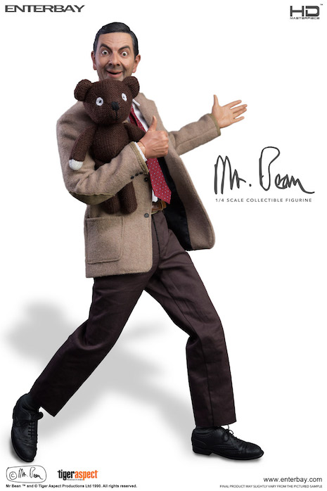 Mr. Bean and Teddy figure