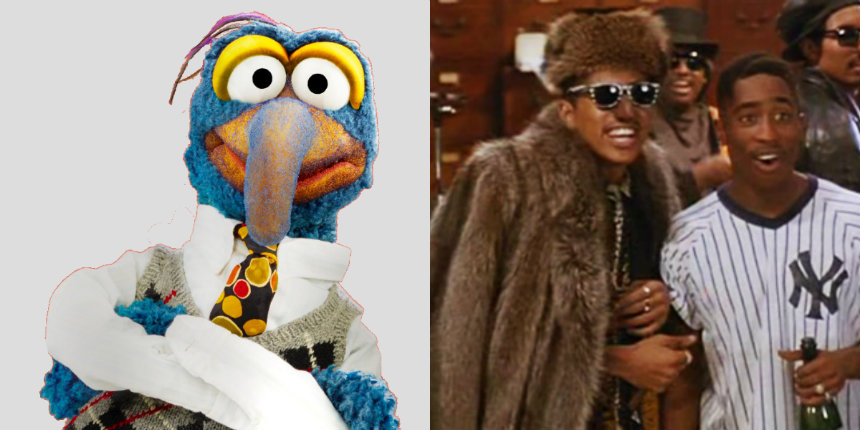 Gonzo from The Muppets sings Digital Underground's 'The Humpty Dance'