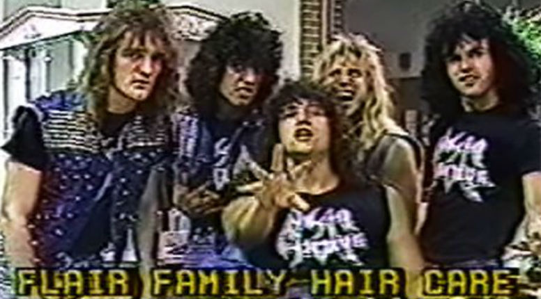 'Mysterious, Incredible, Bizarre': 80s Florida buttrockers in best/worst local hair salon ad ever!