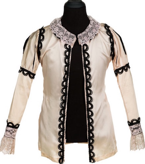Silk shirt worn by Neal Smith made by Alice Cooper's mother, Ella Mae, 1968