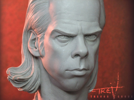 Nick Cave sculpture by Trevor Grove