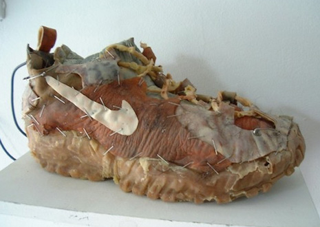 Animatronic Flesh Shoe