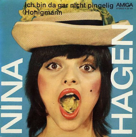 Pre-punk Nina Hagen in East Germany, 1974