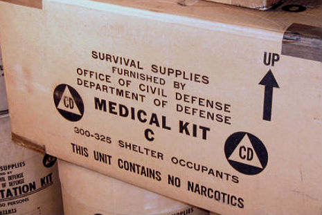 CONTAINS NO NARCOTICS: The Legend of the Civil Defense Boxes