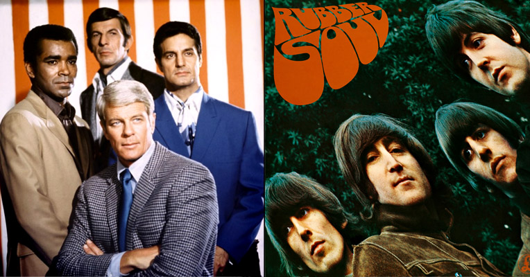 'Mission: Impossible' vs 'Norwegian Wood:' the world's first mashup, 1968