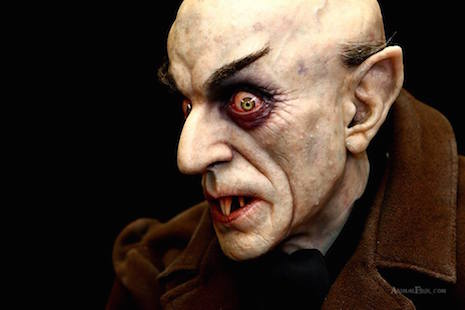 Nosferatu (or Count Orlok) sculpture by Mike Hill
