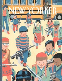 Kids with guns: Almost 20 years later, Art Spiegelman's New Yorker cover seems oddly prescient
