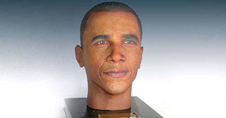 Aaaaaand here's a cremation urn shaped like Barack Obama's head