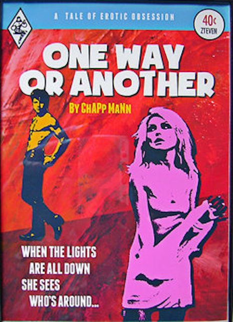 One Way or Another faux pulp novel with Debbie Harry