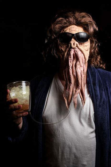 Freaky cosplay, dood: The Dude as a 'Doctor Who' Ood