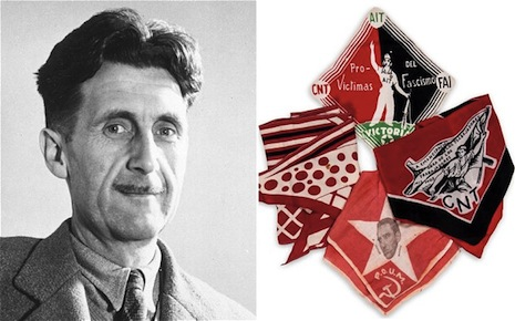 George Orwell and his neckerchief
