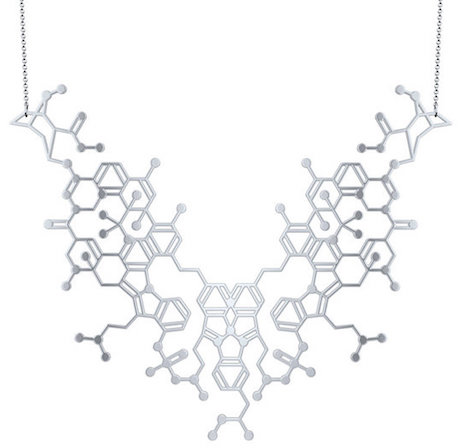 Overdose molecular necklace