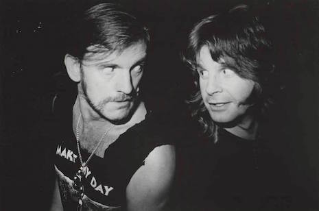 Ozzy and Lemmy the last of the real rock and roll motherfuckers