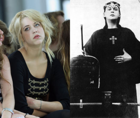Magical Childe: Former 'it girl' Peaches Geldof, follower of Aleister Crowley?