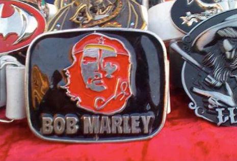 Bob Marley Metal Belt Buckle