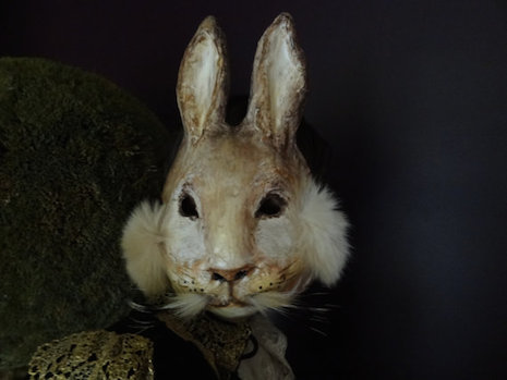 Peter Rabbit mask by Krista Argale