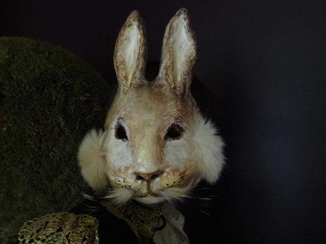 Peter Rabbit mask by Krista Argale