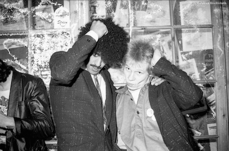Phil Lynott and Steve Cook