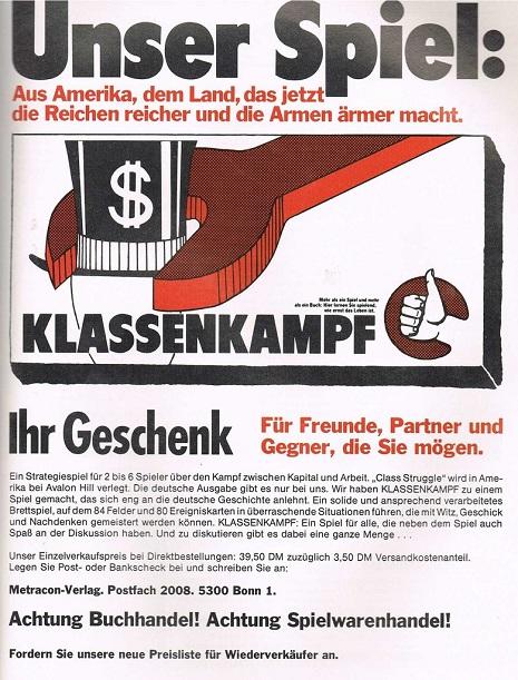 German Class Struggle
