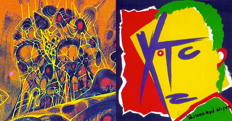 Psychoactive sci-fi surrealism: The book covers that inspired XTC's Andy Partridge