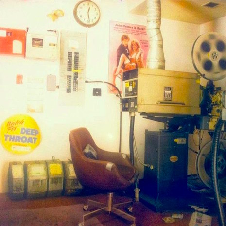 The projector room at The Park Theater