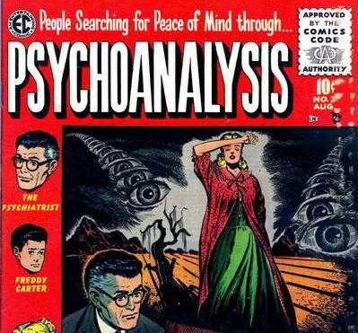 Curious 'Psychoanalysis' comics from the 1950s