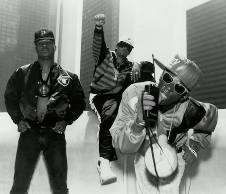 Public Enemy - Chuck D, DJ Terminator X and Flavor Flav