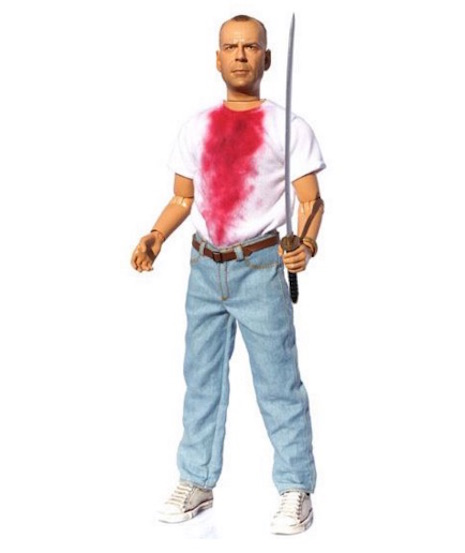 Butch Coolidge talking action figure
