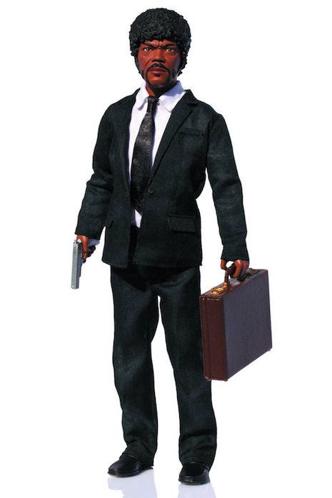 Jules Winnfield talking action figure
