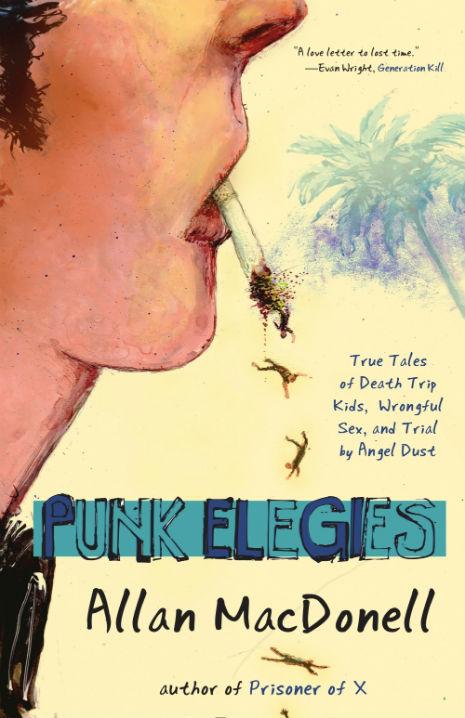 MacDonell's Punk Elegies Cover Art a Go-Go