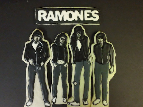 The Ramones cookies