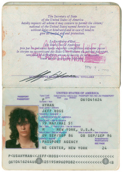 'Gabba Gabba once, Gabba Gabba twice': Joey Ramone's personal items going up for auction
