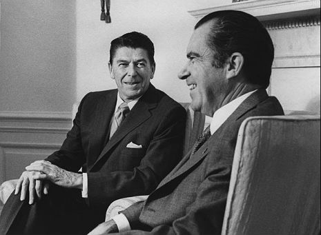 WASTED Richard Nixon talks, slurs his words to Ronald Reagan on the telephone, 1973