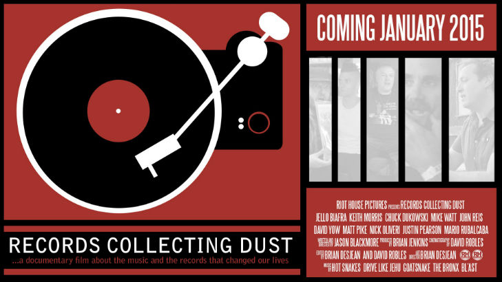 'Records Collecting Dust': New doc on collecting vinyl with Jello Biafra and other fanatatics