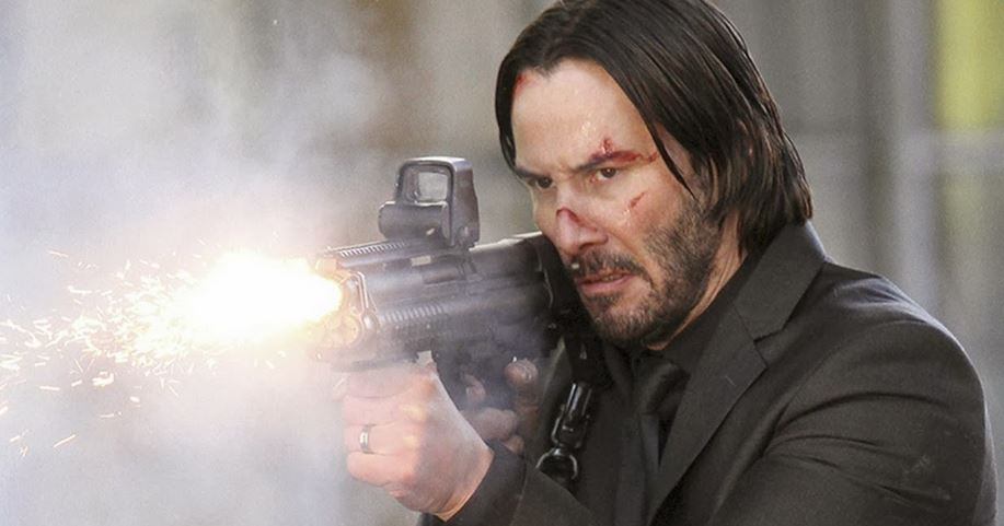 Keanu Reeves wants to blow your face off