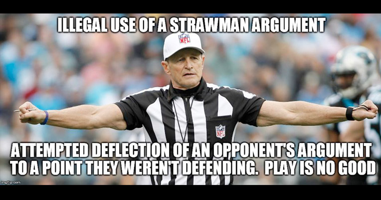 Arguing with idiots online wearing you down? You need Fallacy Ref!