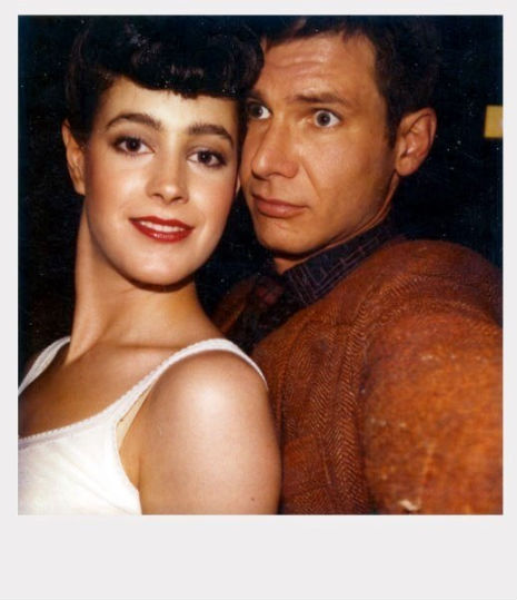 Polaroids from the sets of 'Blade Runner,' 'Taxi Driver,' 'Breakfast at Tiffany's' and more