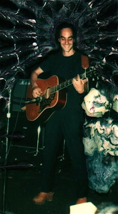 Richard Goldman on stage, c. early 1980s